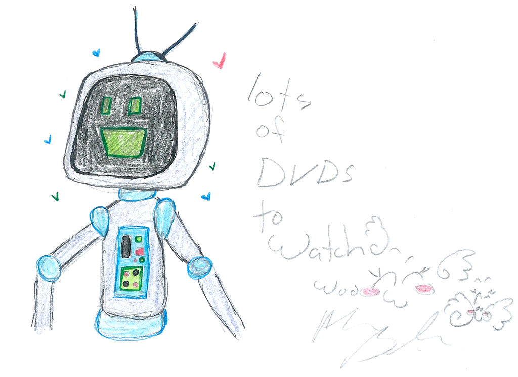 robots like DVDs by Kittychan2005