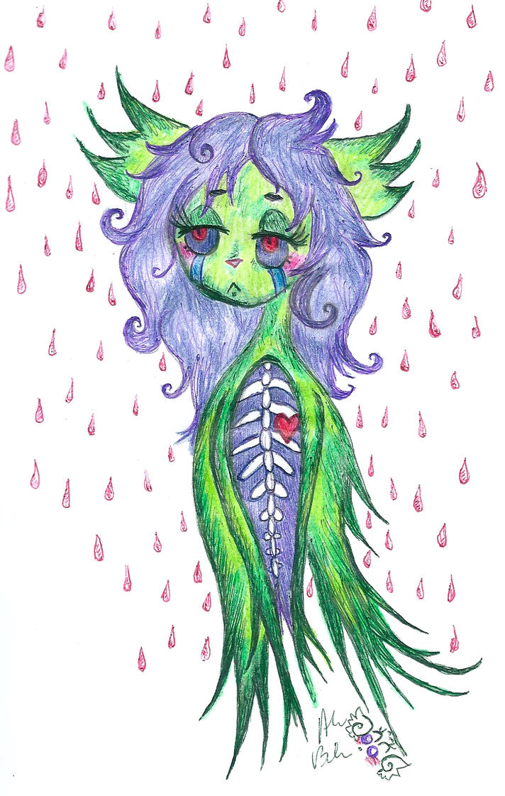 Red rain by Kittychan2005