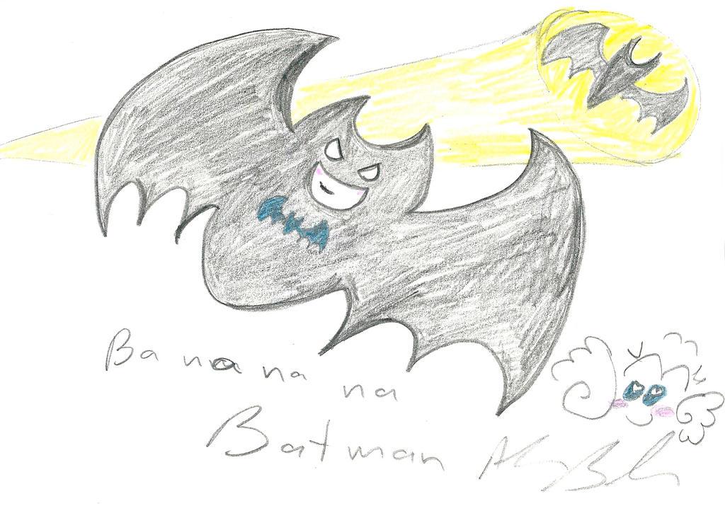 Banananana Batman by Kittychan2005