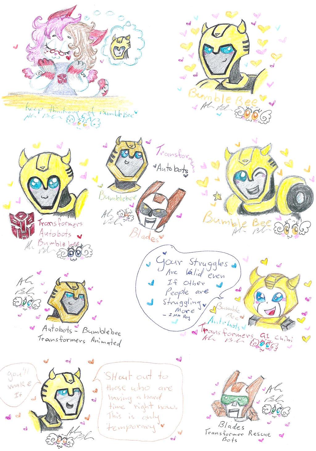 Transformers fanart by Kittychan2005