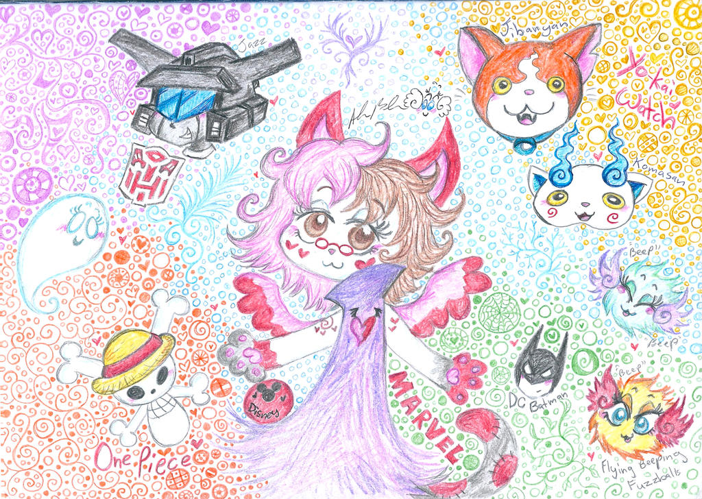 Miss Kitty's Fandoms by Kittychan2005