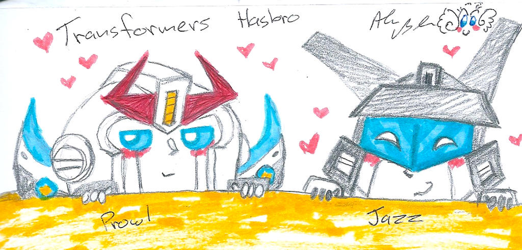 Transformers Hasbro Prowl Jazz by Kittychan2005