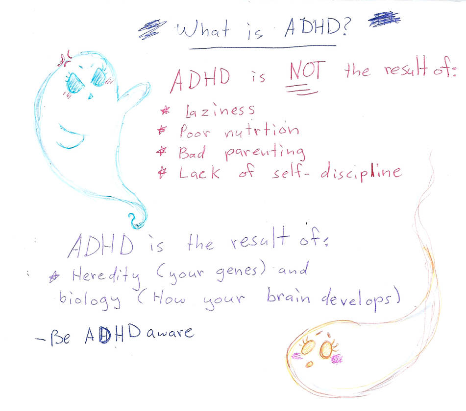 what is ADHD by Kittychan2005 on DeviantArt