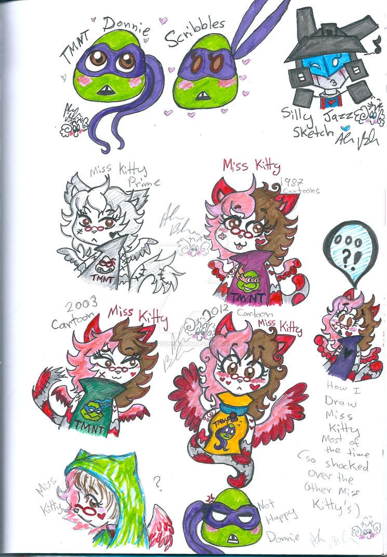 TMNT MissKitty TransformersJazz other Universes by Kittychan2005