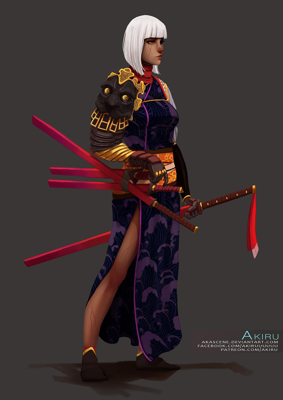 Lady Oyuki by AKAScene