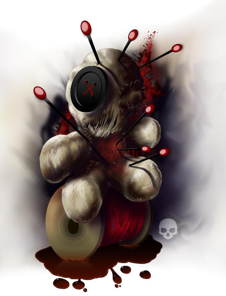 Voodoo Doll Tattoo Design by JoelWrightme on DeviantArt