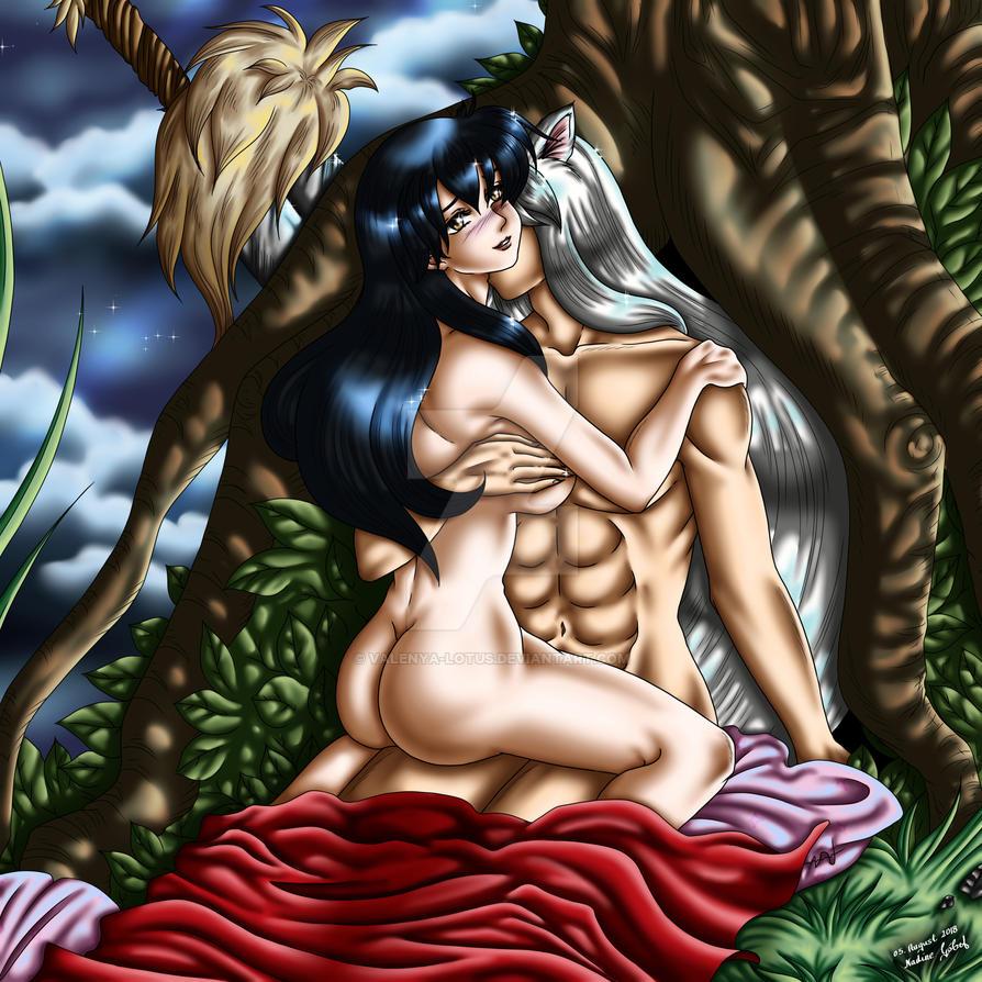 Inuyasha and Kagome - Finally yours forever by Shizumi-Hikari