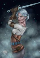The Witcher - Ciri by air87art