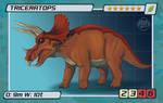 DinoDNA Board Game - Triceratops