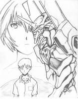 Evangelion by shawnr22