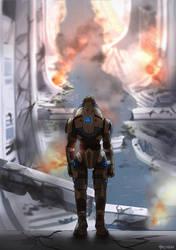 Presidium (2/2): No Shepard by skyllianhamster
