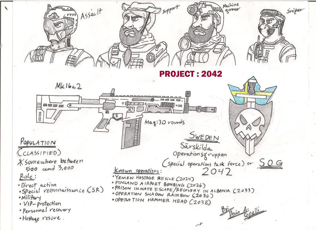 Sweden SOG 2042 Sketch By BlackKnife12