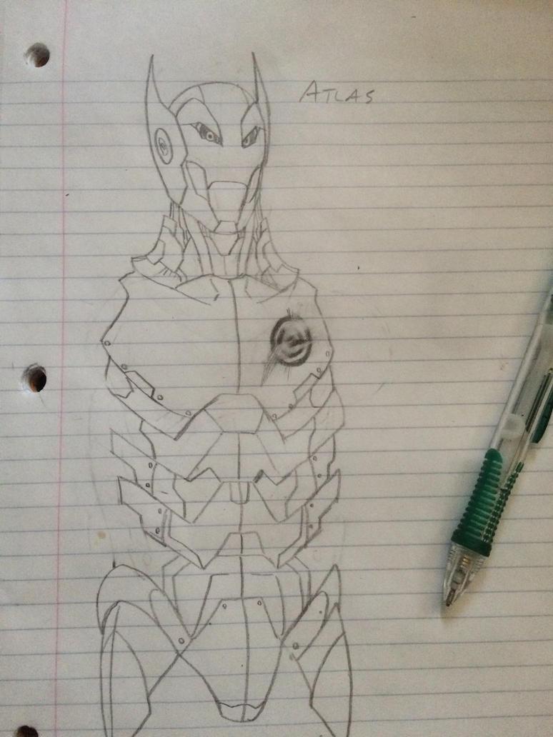 Dragon ball villain WIP by BlackKnife12