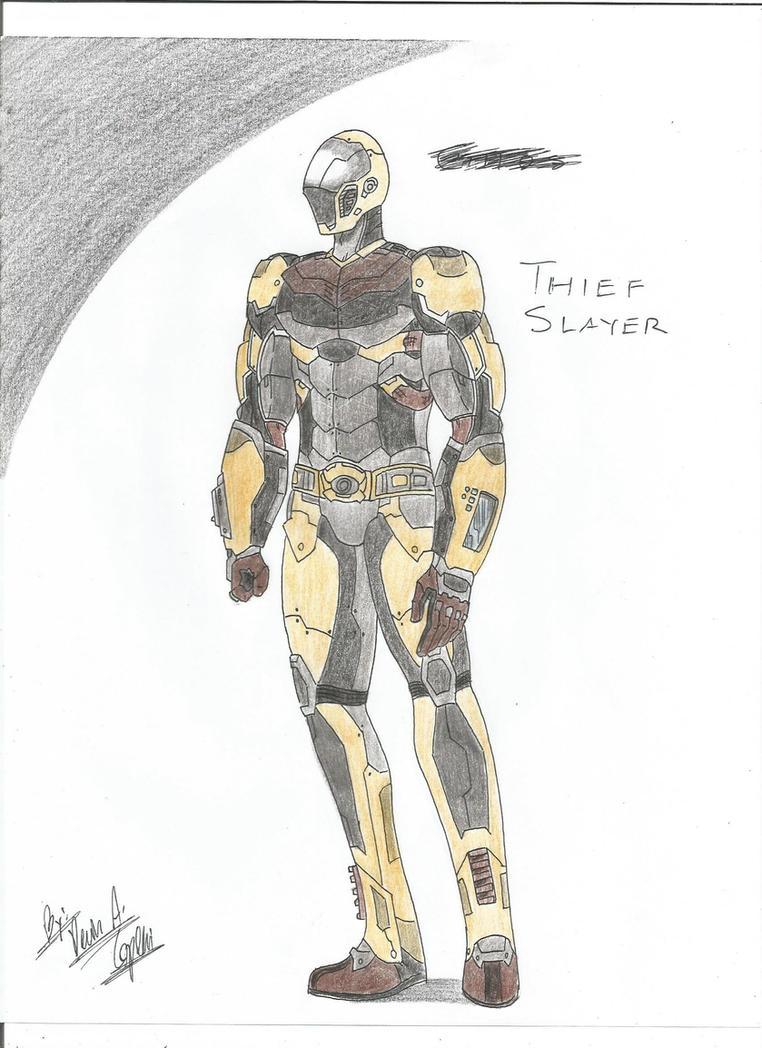 The Thief Slayer by BlackKnife12