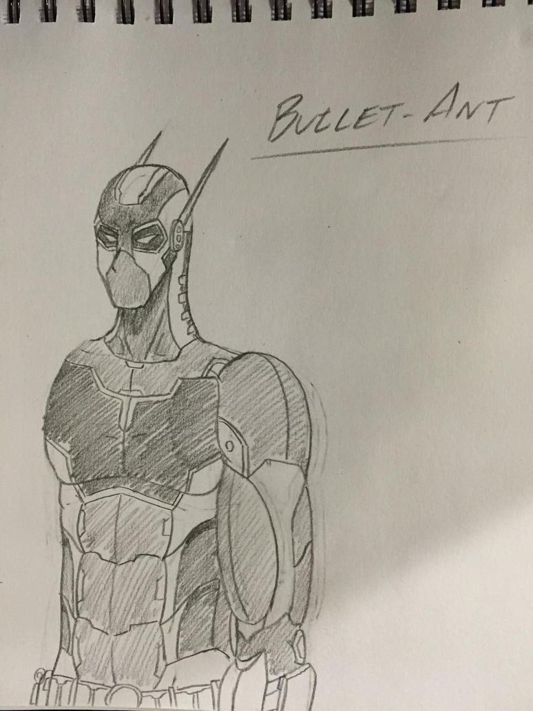 Bullet Ant WIP by BlackKnife12