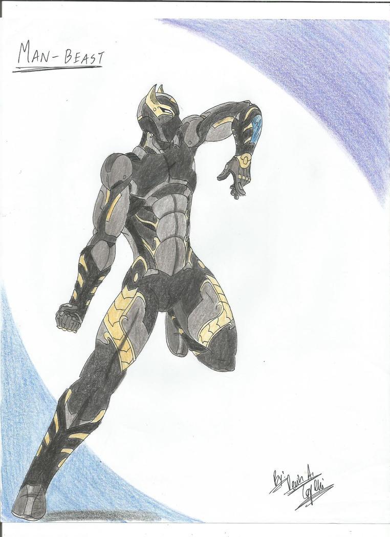 Man-Beast by BlackKnife12