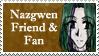 Nazgwen Stamp by Marira