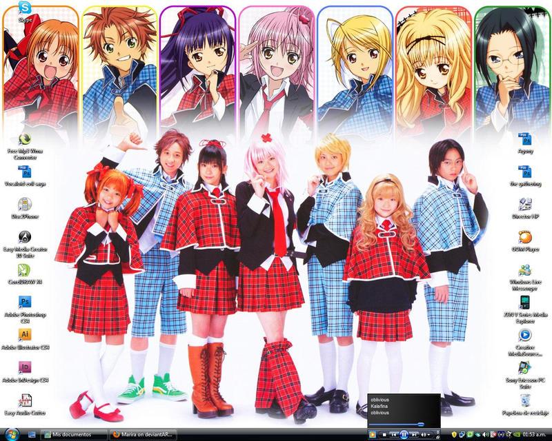 Shugo Chara Musical Desktop by Marira