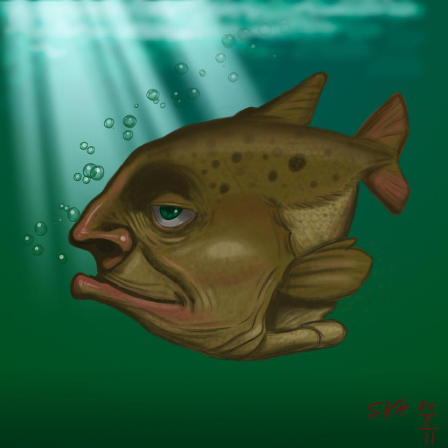 Weird Fish Underwater 9