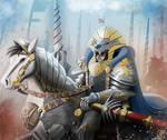 The White Lancer by WackoShirow