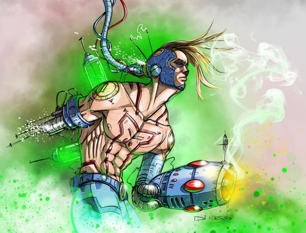 Megaman reboot by WackoShirow