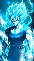 Goku by Kanchiyo