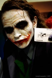 Joker at ToyCon'09 by yumphotography