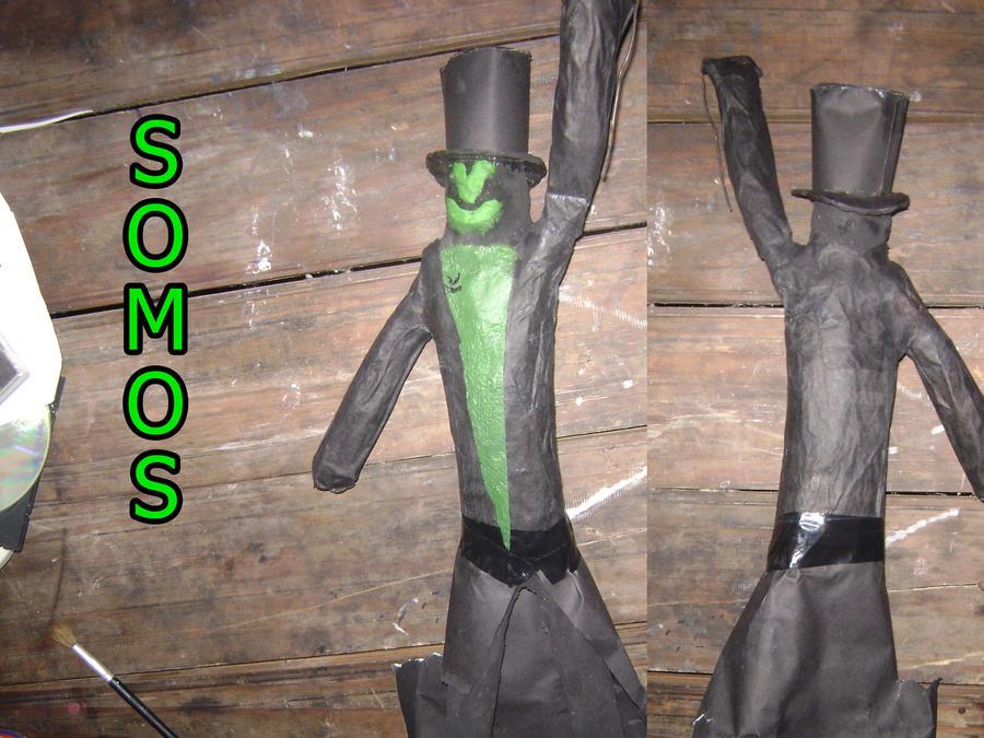 Somos Plastic Sculpture by CyberCowboyZombie