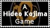 A Hideo Kojima Game Stamp by s-e-n-s-u-k-a