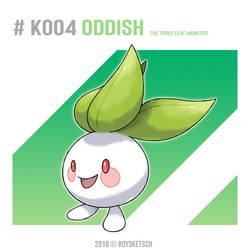 # K004 Oddish by RoySketsch