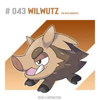 # 043 Wilwutz by RoySketsch