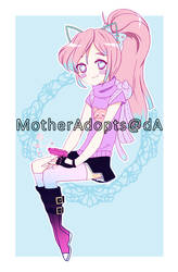 .:pastel girl adoppp auction CLOSED:. by MotherAdopts