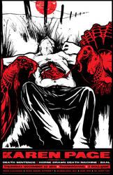 KAREN PAGE THANKSGIVING POSTER by GreyAriaDesignStudio