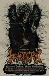 INCANTATION POSTER by GreyAriaDesignStudio