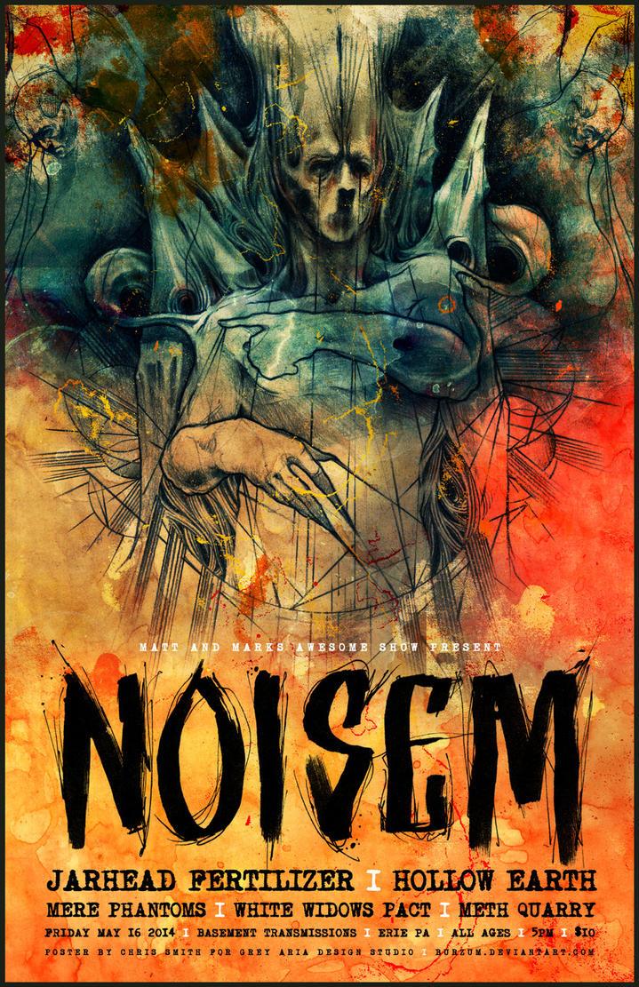 NOISEM POSTER by BURZUM