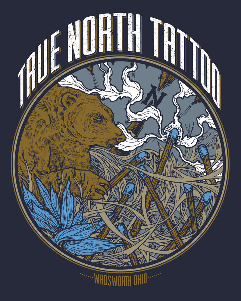 true north tattoo blue tip shirt by burzum on deviantart. Black Bedroom Furniture Sets. Home Design Ideas