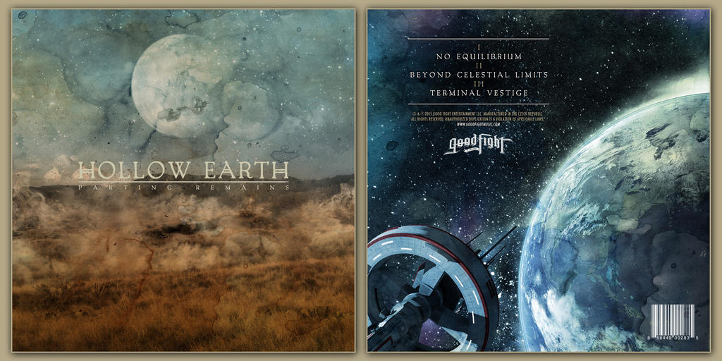 HOLLOW EARTH PARTING REMAINS 10 INCH COVERS