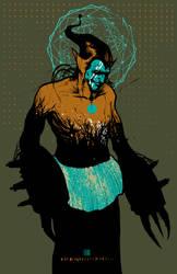 THE BLACKGUARD SYMBIOTE by GreyAriaDesignStudio