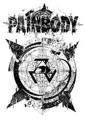PAINBODY HEALING SHIRT AND LOGO V2 by GreyAriaDesignStudio
