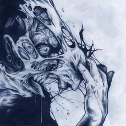 WREATH OF TONGUES PENCILS by GreyAriaDesignStudio