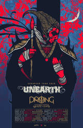 UNEARTH PRONG EURO TOUR POSTER 2020