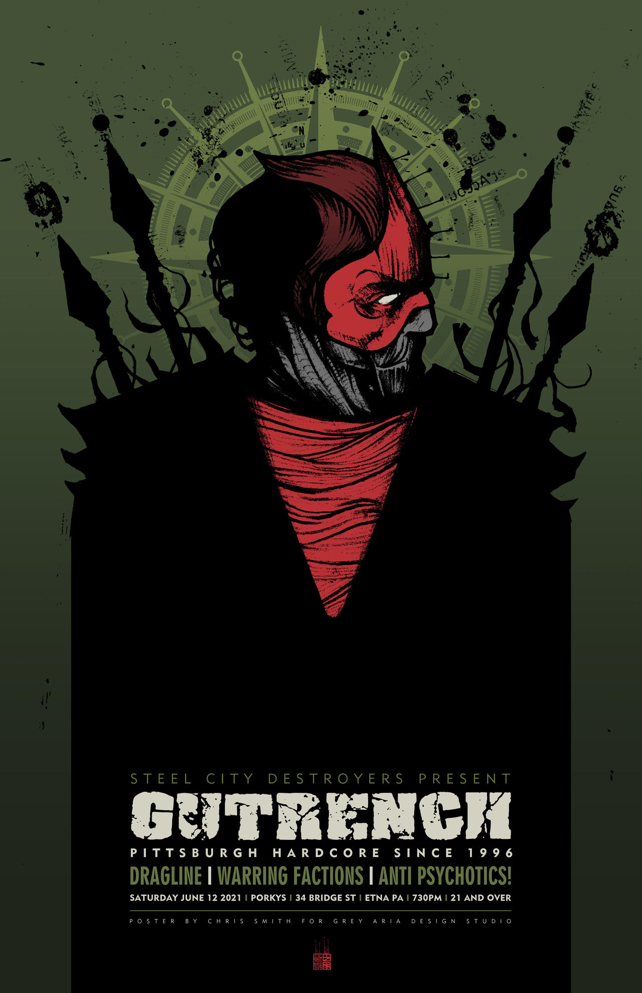 GUTRENCH POSTER