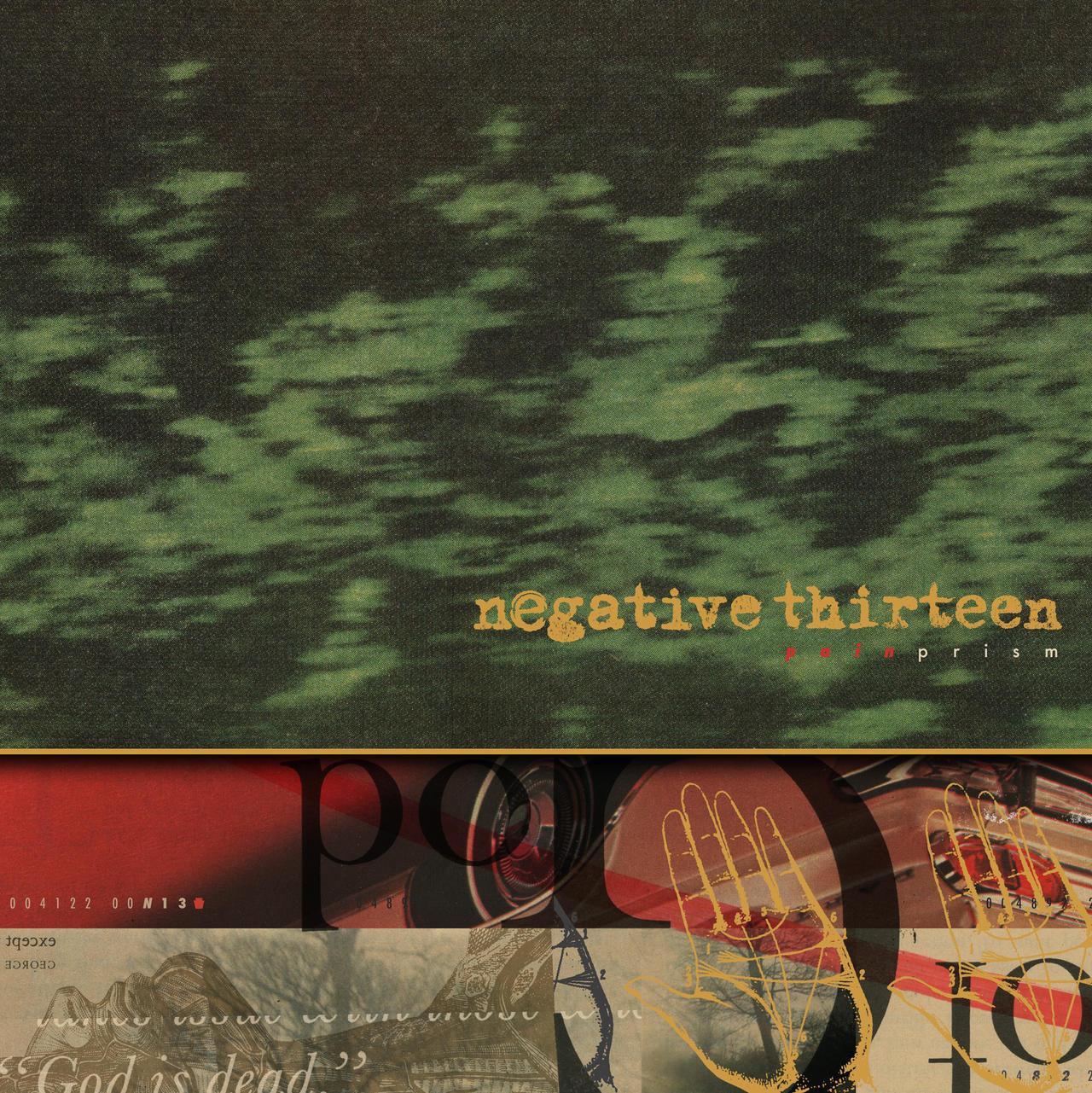 NEGATIVE 13 PAIN PRISM COVER