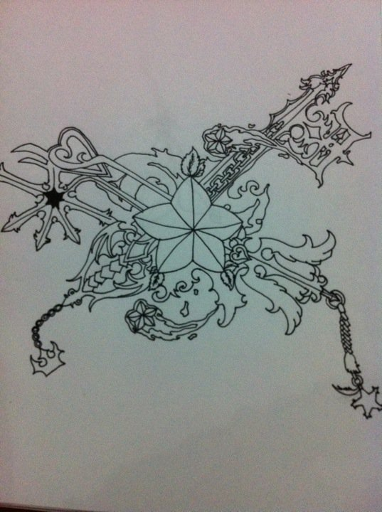 Tattoo The Keyblade Pictures to Pin on Pinterest - TattoosKid