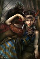 Tenebrous Empress by PinkParasol