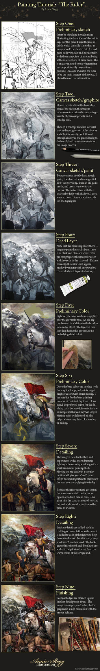 Painting Tutorial: The Rider