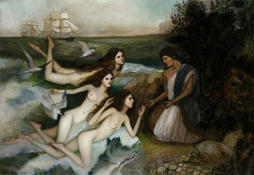 The Sirens by PinkParasol