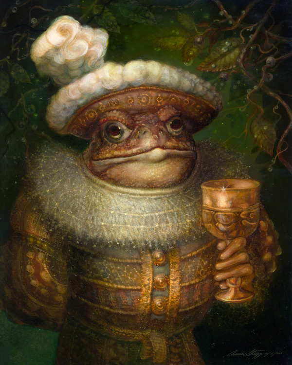 TheToad by PinkParasol
