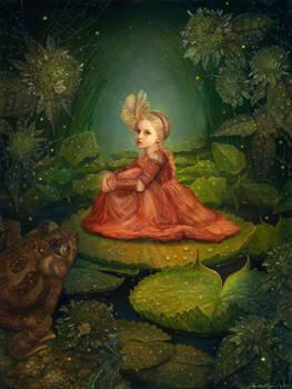 Thumbelina in the Marsh