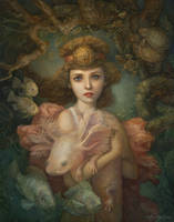 Lilaia the Naiad by PinkParasol